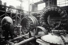 Image - Des turbines en installation